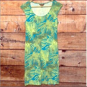 Tommy Bahama Leaf Print Dress